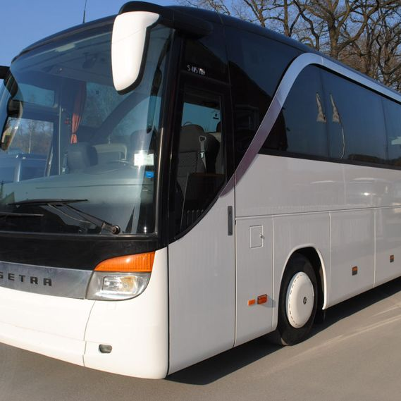 Selection of high-quality coaches and minibuses.